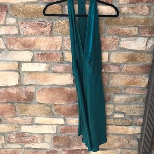 VICTORIA'S SECRET Vintage Plunge V-Neck Satin Gown